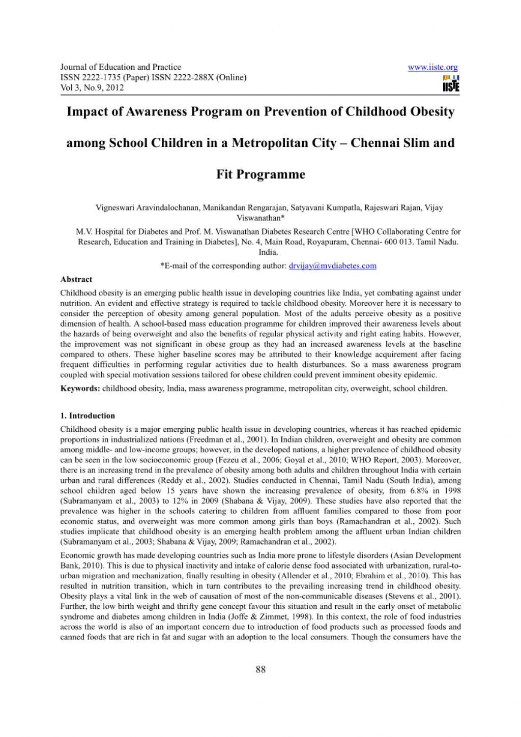 003 Childhood Obesity Research Paper Abstract Formidable Large