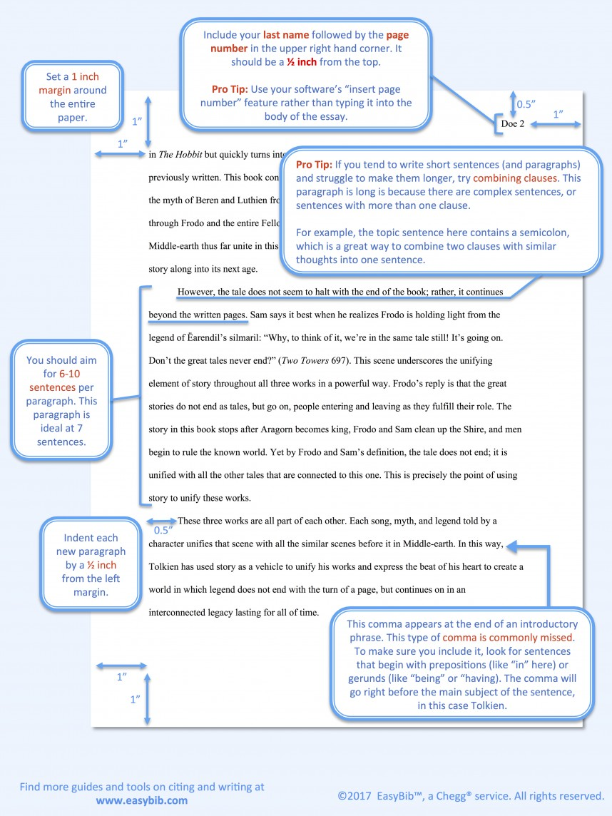 003 Citation Rules For Research Papers Model Mla Paper Awful