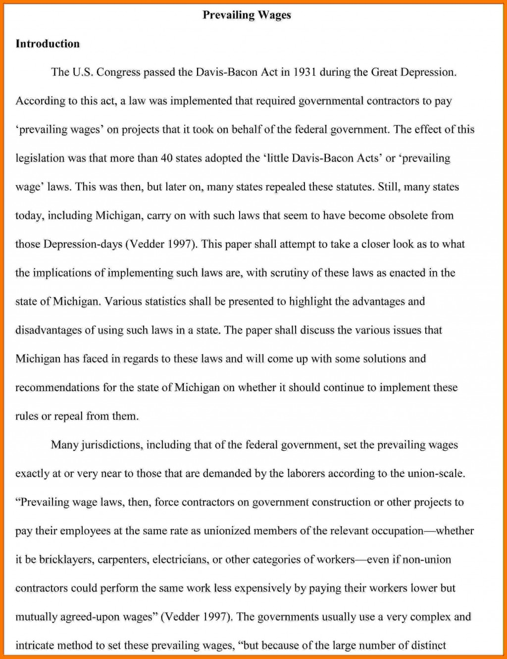 003 Collection Of Solutions Introduction Apa Paper Great Research To Frightening Example A Pdf Large