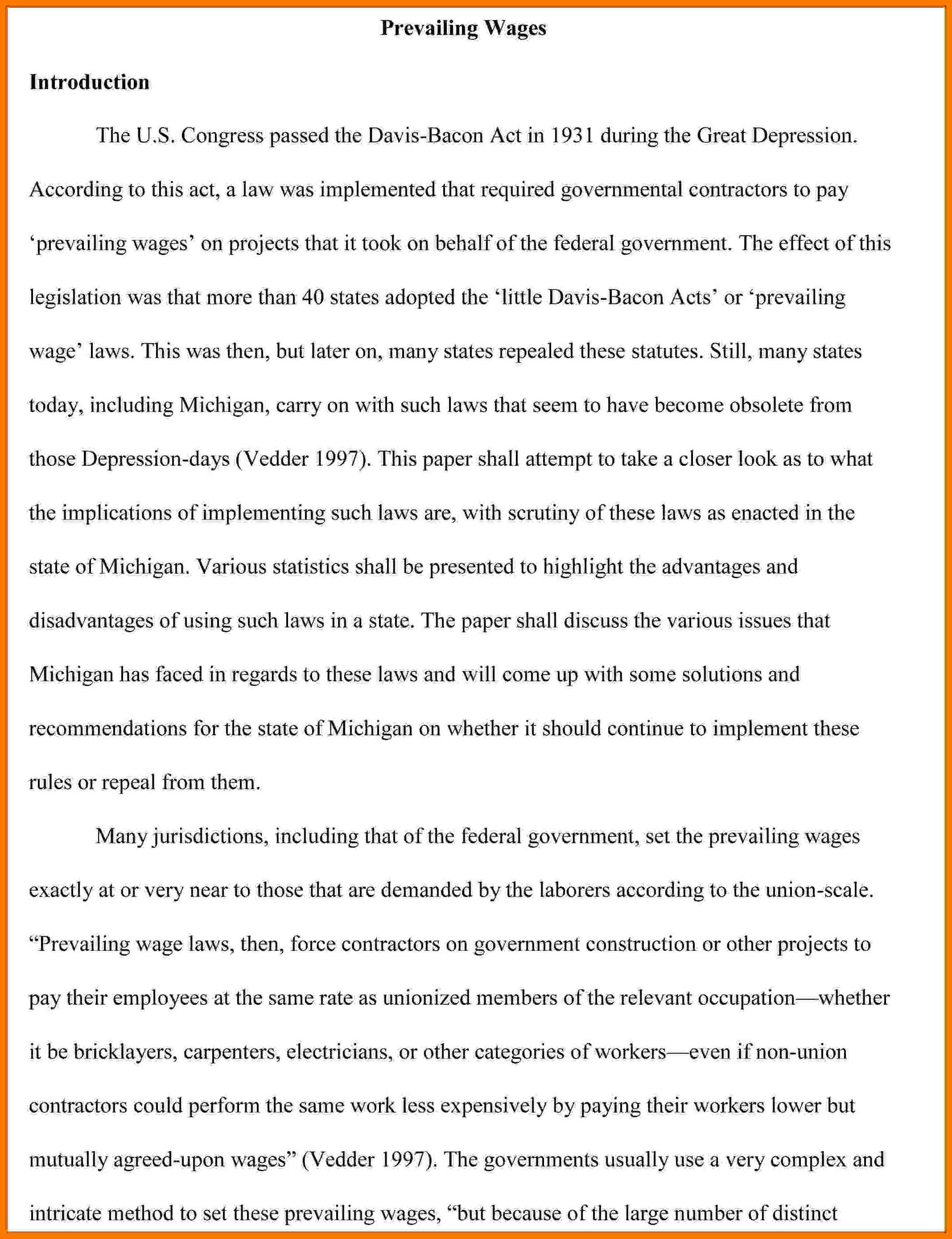 003 Collection Of Solutions Introduction Apa Paper Great Research To Frightening Example A Pdf Full