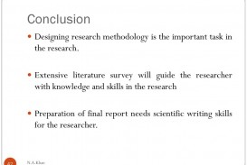 003 Conclusiondesigningresearchmethodologyistheimportanttaskintheresearch Research Paper Conclusion Of Beautiful Methodology Chapter Hypothesis In