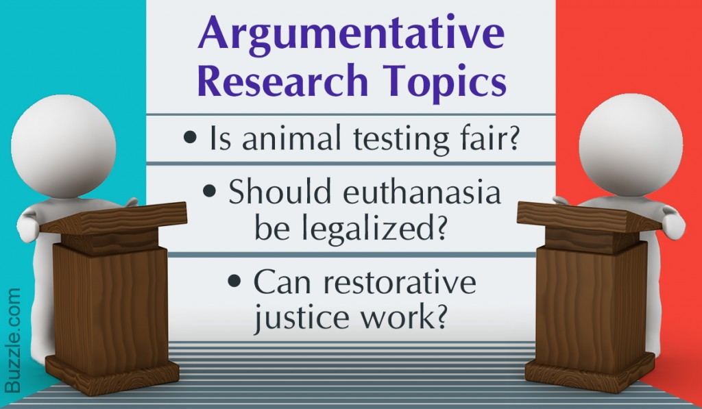 003 Controversial Topics For Argumentative Research Paper Fascinating Large