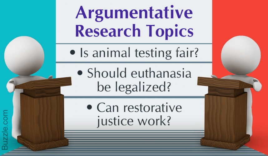003 Controversial Topics For Argumentative Research Paper Fascinating