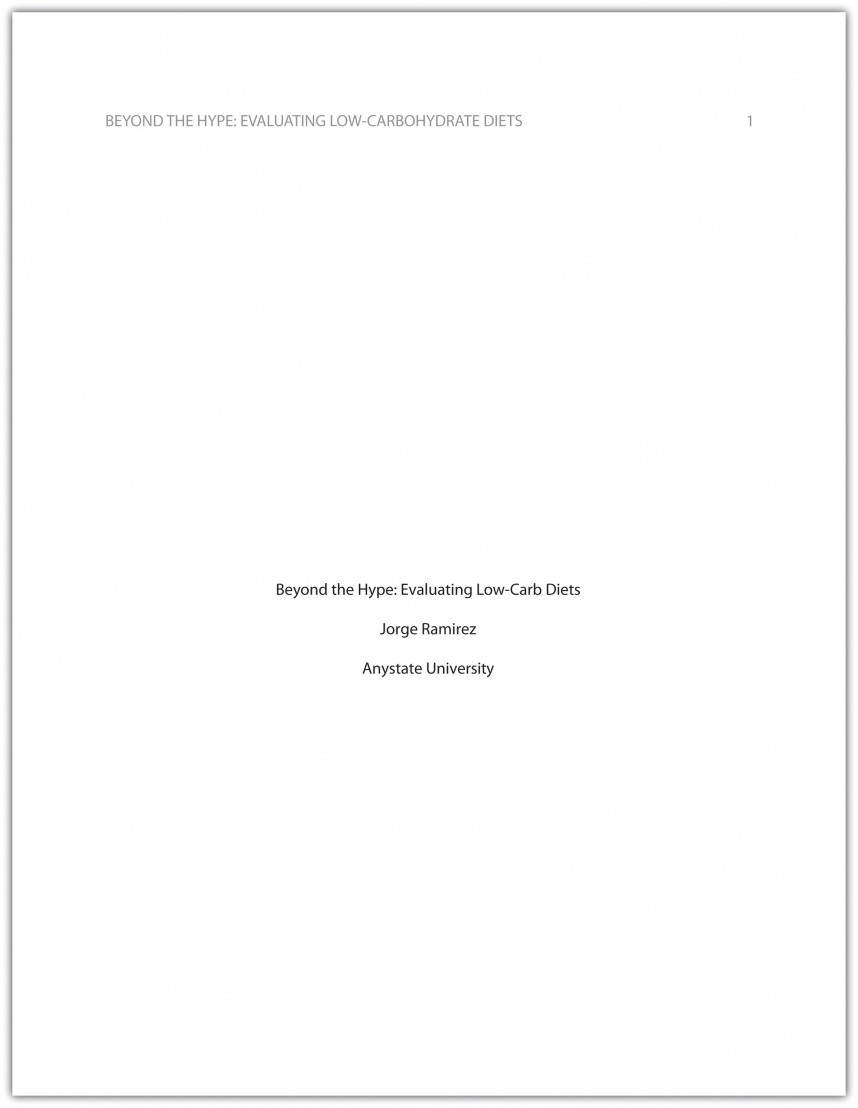 003 Cover Page Sample For Research Paper Stupendous Proper Title Format Apa
