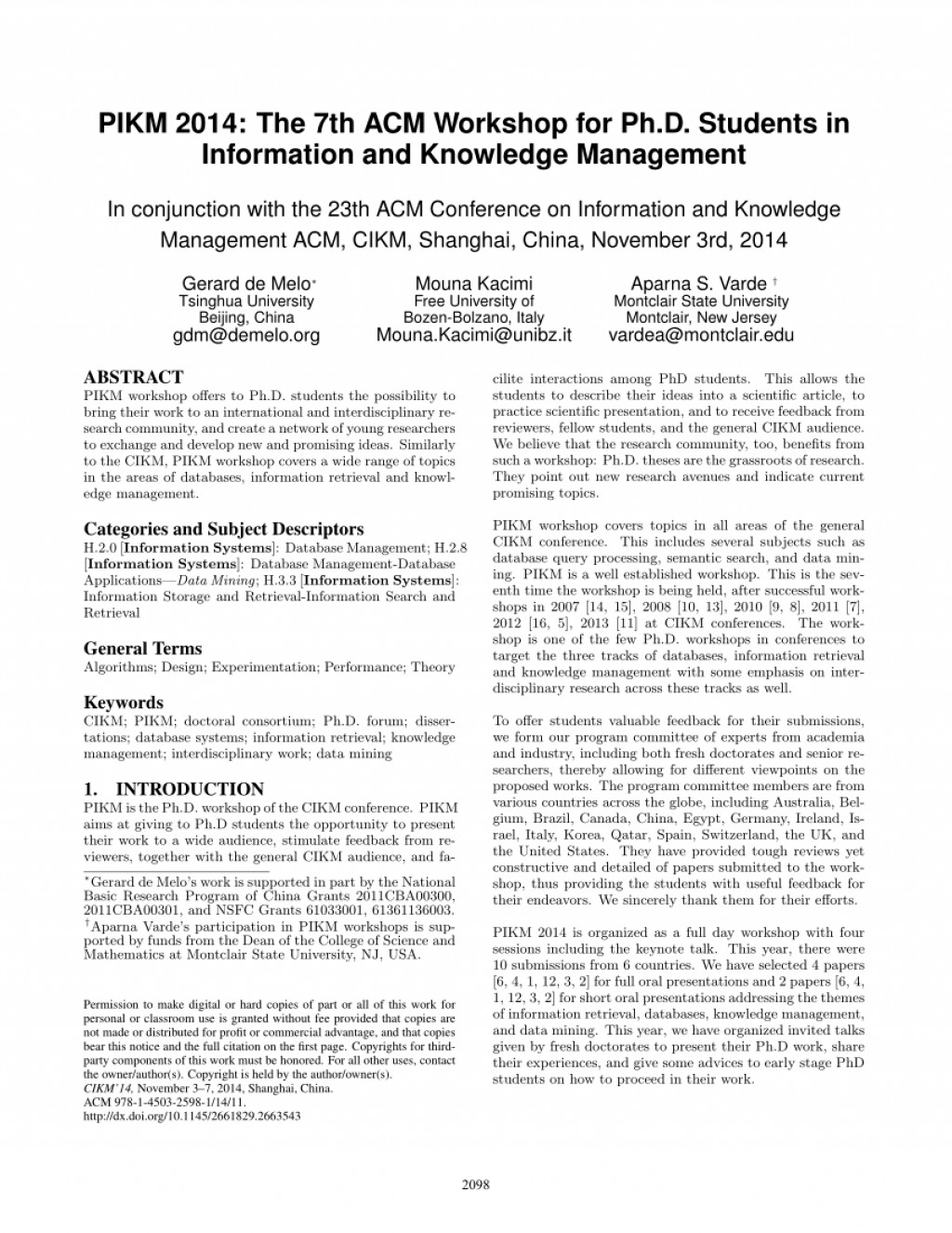 003 Database Management Research Paper Topics Amazing On System Large