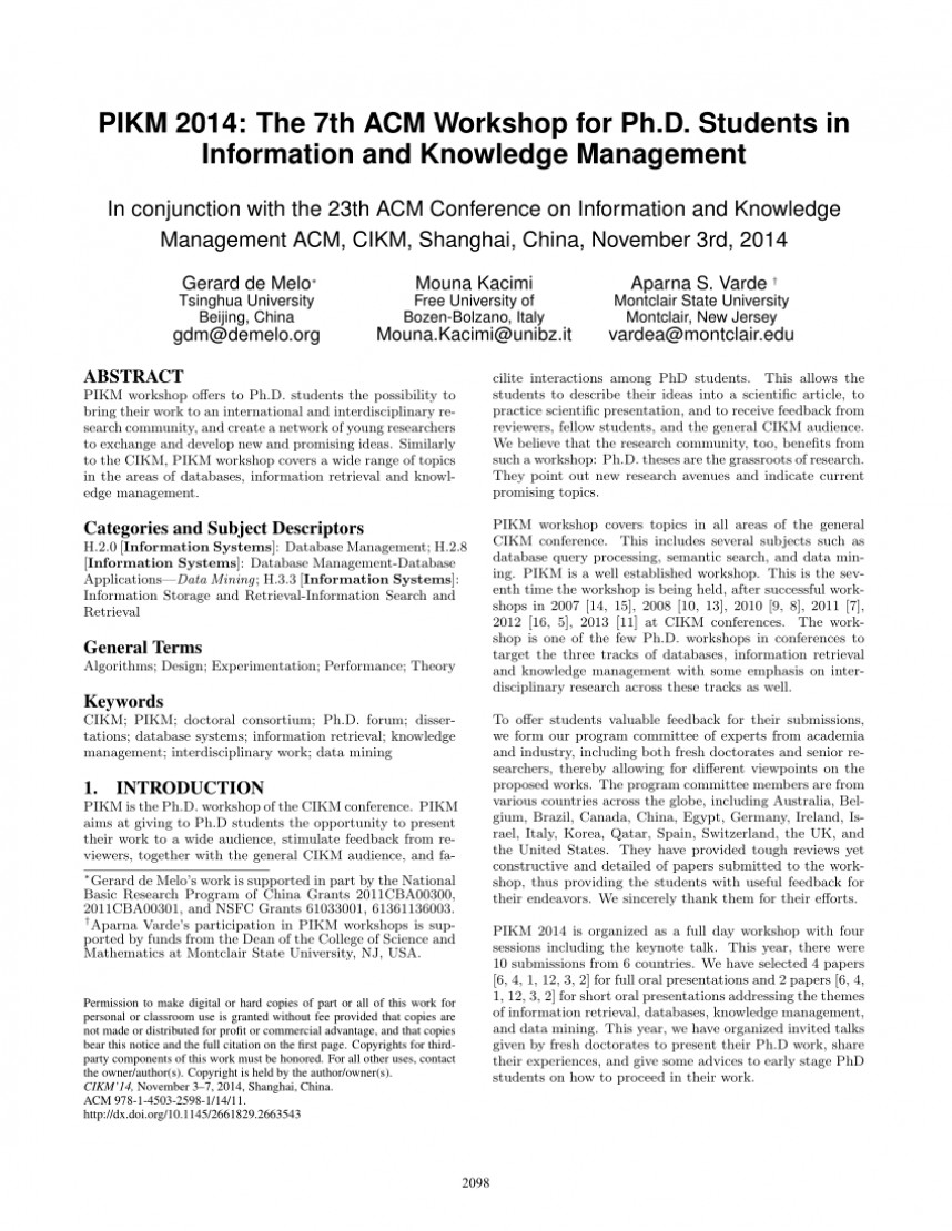 003 Database Management Research Paper Topics Amazing On System