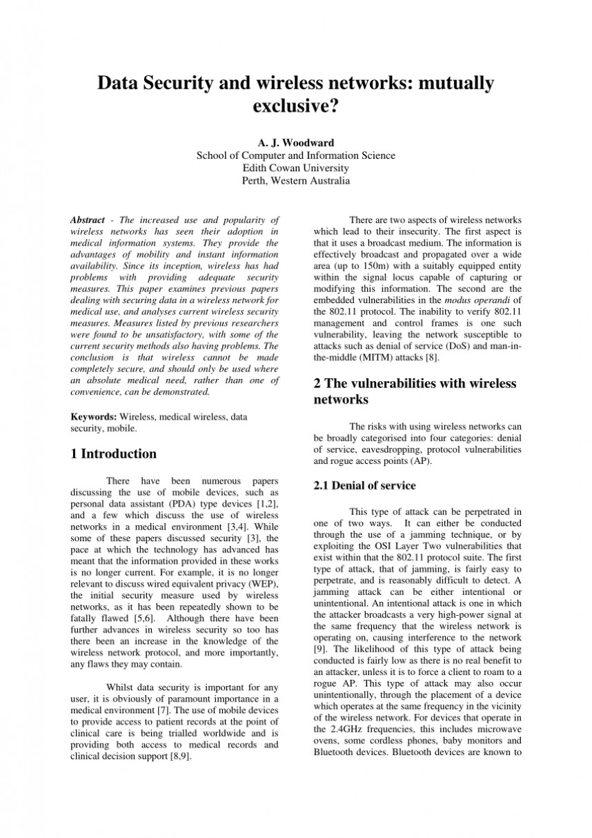 003 Database Security Research Paper Draft Imposing -