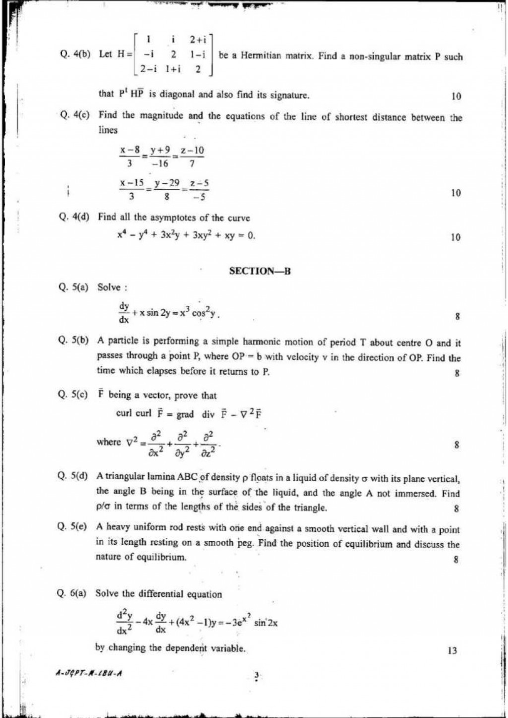 003 Environmental Science Research Papers Pdf Paper Maths Question Of Indian Forest Service Staggering Large