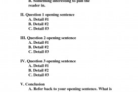 003 Formal Sentence Outline For Research Paper Marvelous
