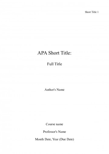 003 Front Page Of Term Paper Example Research Apa Title Unforgettable Sample 360