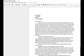 003 Google Research Paper Best Earth Papers Topics Outline Template Docs