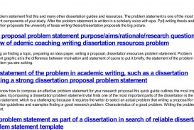 003 Help With Writing Dissertation Problem Statement How To Find In Research Exceptional Paper