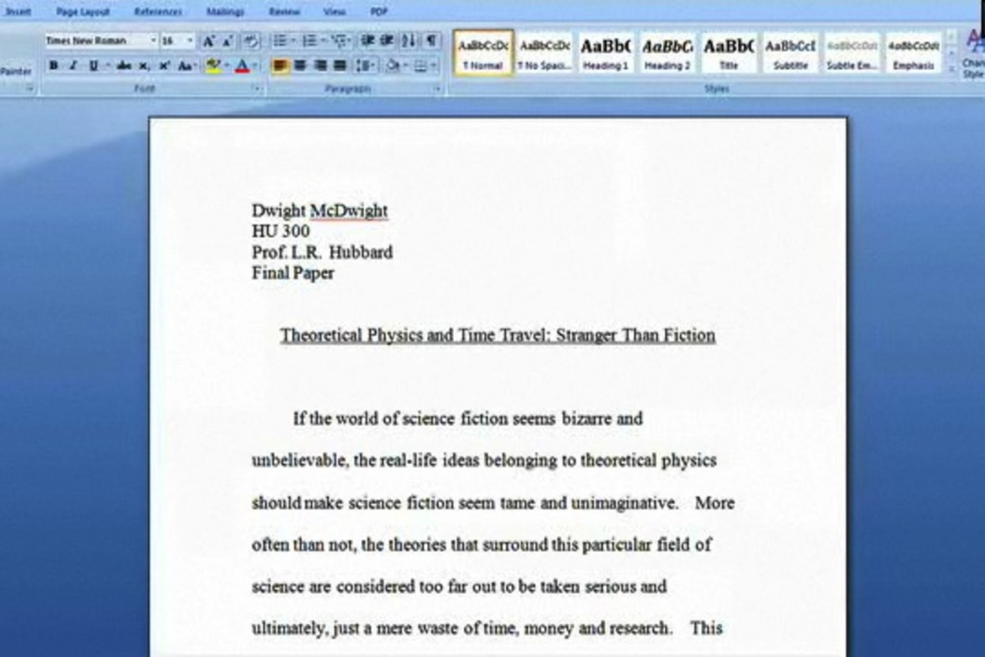 003 How Can You Make Research Paper Longer O To Your School Reports Look Than They Are Promo Archaicawful A Get 1920