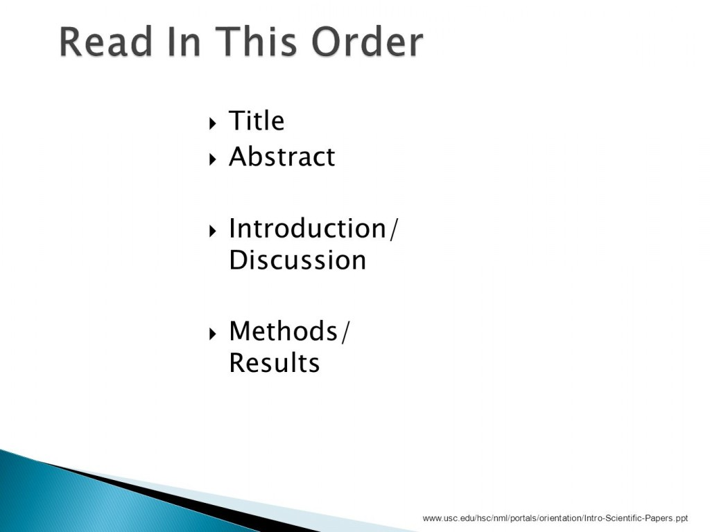 003 How To Read Research Papers Ppt Paper Slide 9 Fascinating Large