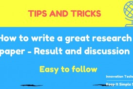 003 How To Write Research Paper Fast And Easy Singular A