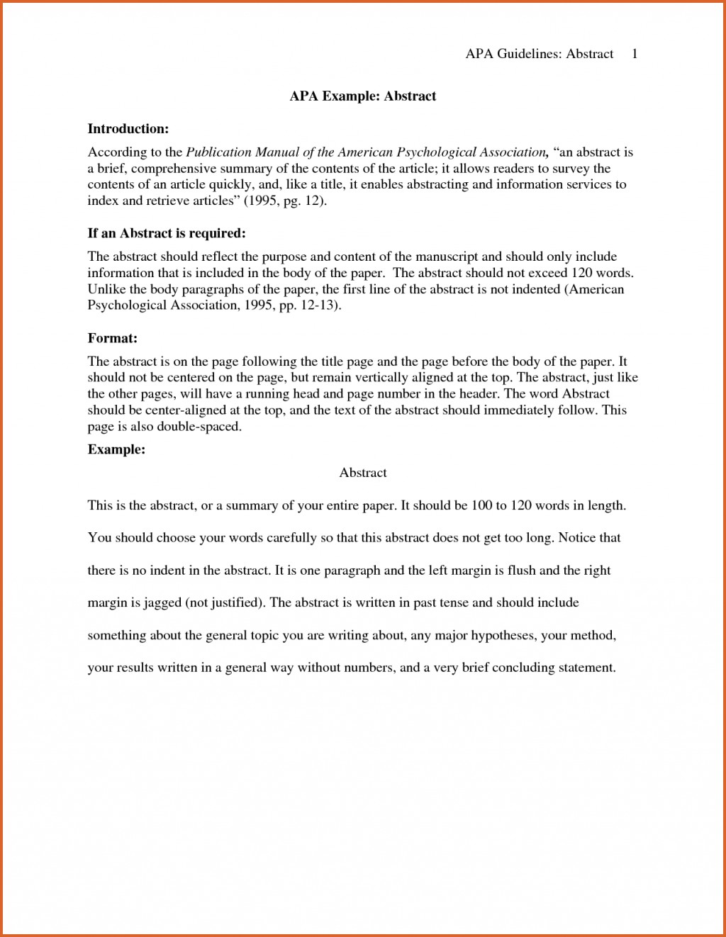 003 Ideas Collection Abstract Example Apa Sampleearch Paper Charming Of For Sensational Research Writing An A Style Sample Large