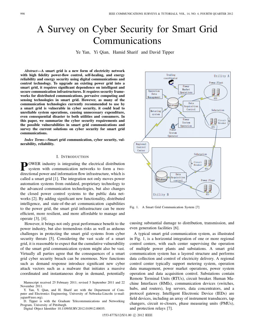 003 Ieee Research Paper On Cyber Security Pdf Breathtaking Network Full