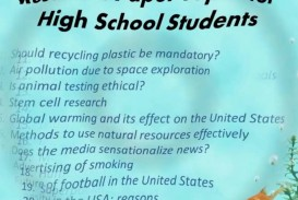 003 Interesting Topics For Research Paper High School Frightening A Students Argumentative 320