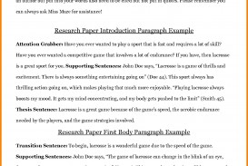 003 Intro To Research Paper Example Examples Of Sample Bravebtr Qualitative Pdf With Introduction Shocking A Paragraph Mla