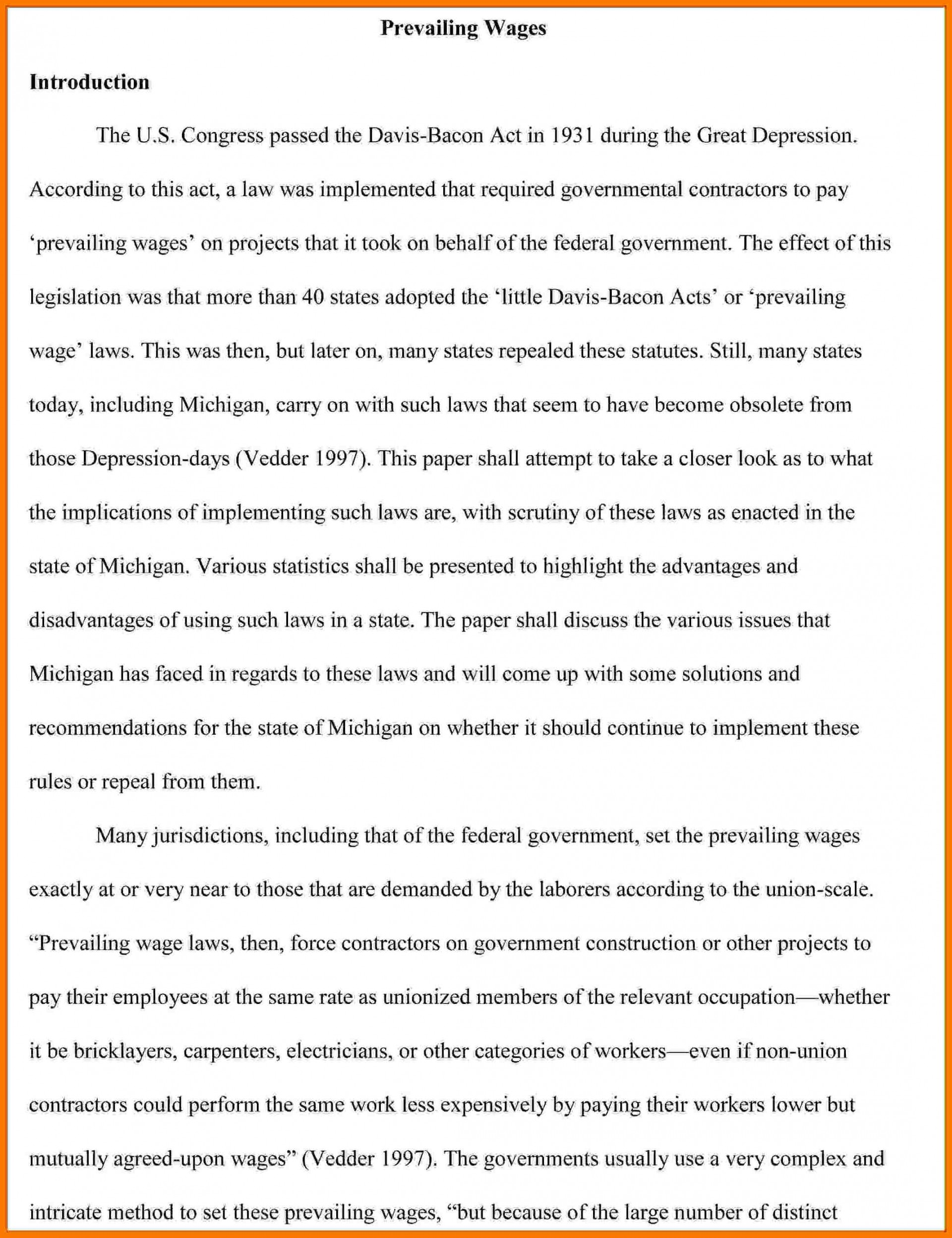 003 Introduction To Research Paper Example Collection Of Solutions Apa Fearsome A How Write An Pdf Paragraph For Mla 1920