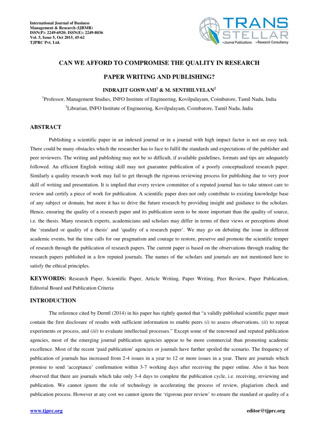 003 Largepreview How To Publish Research Paper Without Striking A Professor Large
