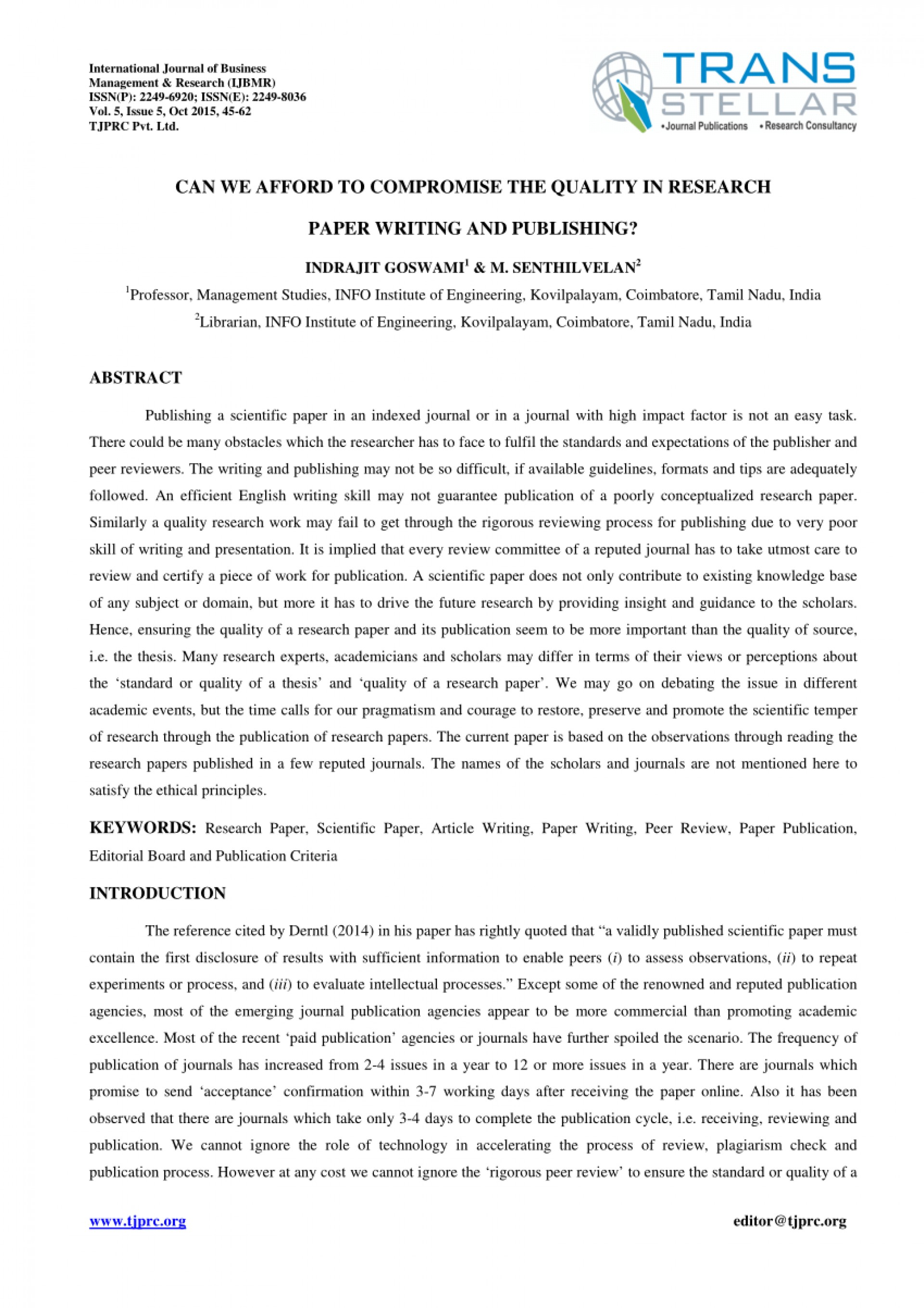 003 Largepreview How To Publish Research Paper Without Striking A Professor 1920