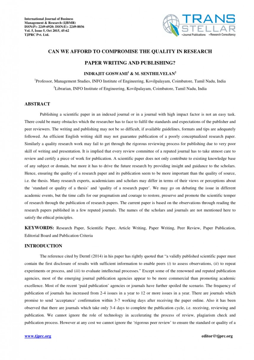 003 Largepreview How To Publish Research Paper Without Striking A Professor