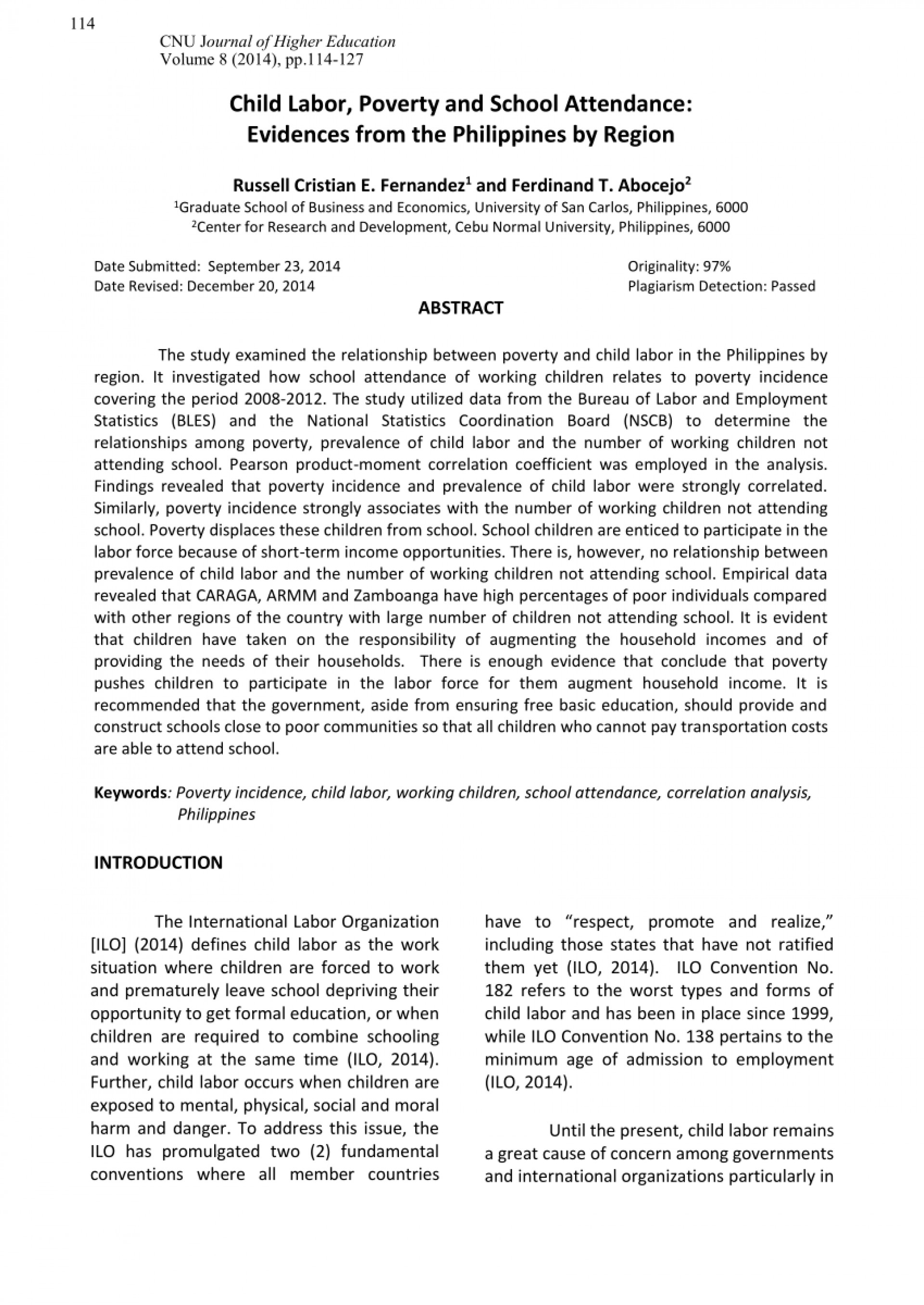 003 Largepreview Poverty In The Philippines Research Paper Remarkable Abstract 1920
