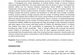 003 Largepreview Poverty In The Philippines Research Paper Remarkable Abstract 320