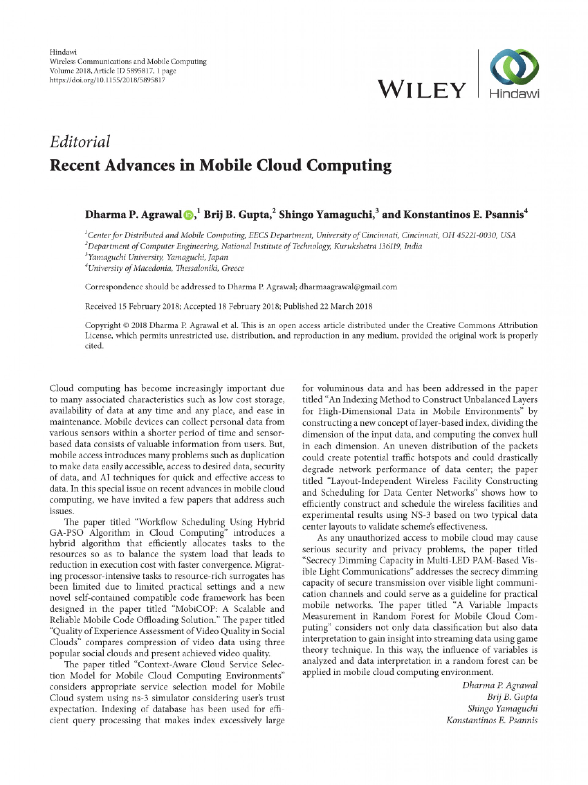 research papers on mobile computing