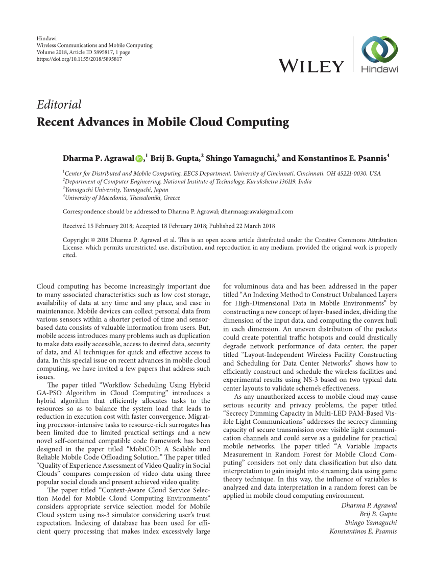 003 Largepreview Research Paper Cloud Computing Astounding 2018 Pdf Full