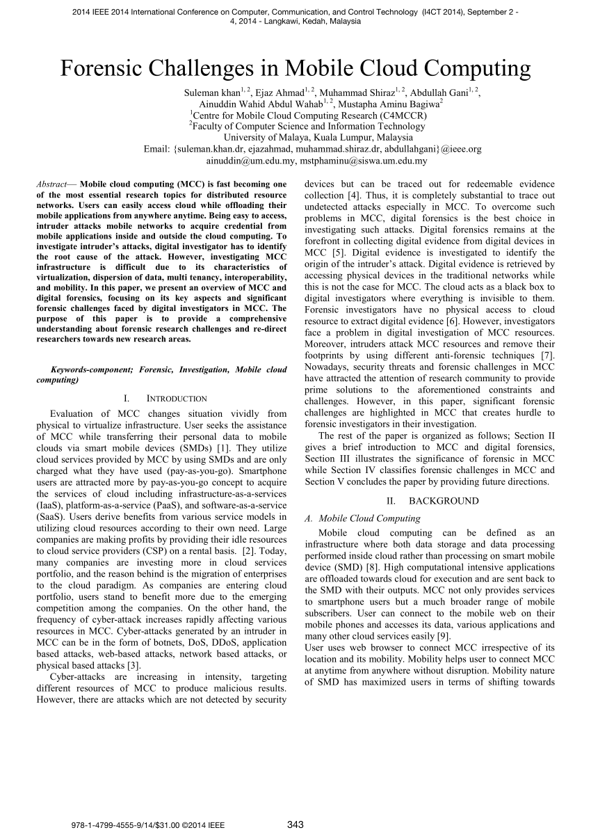 003 Largepreview Research Paper Ieee Papers In Computer Science Phenomenal Pdf Full