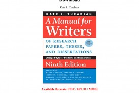 003 Manual For Writers Of Research Papers Theses And Dissertations 9th Edition Pdf Paper Page 1 Wonderful A