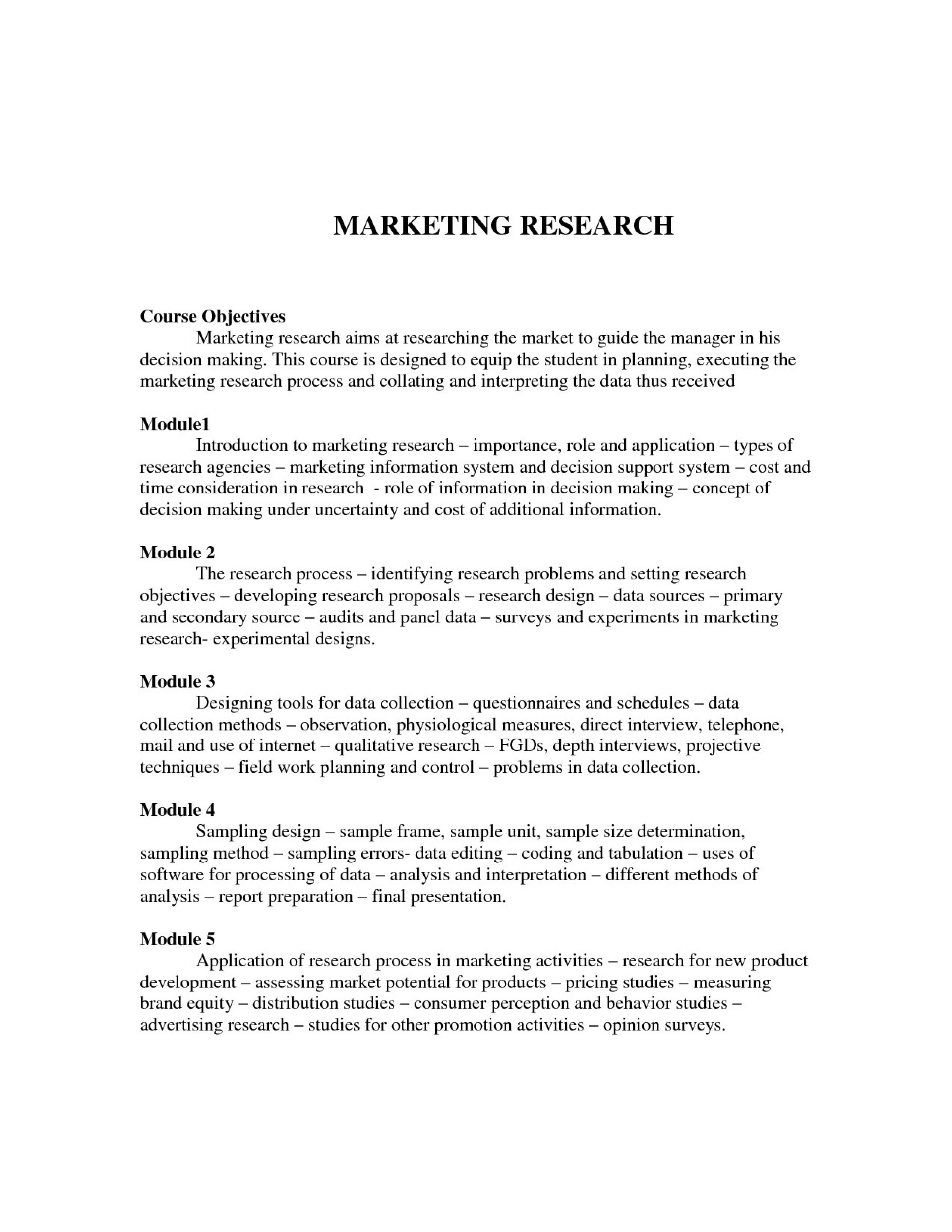 003 Marketing Researchr Introduction Sample Best Photos Of Market Proposal Template Pertaining To Design Presentation Techniques For And Project Proposals Rare Research Paper 1920