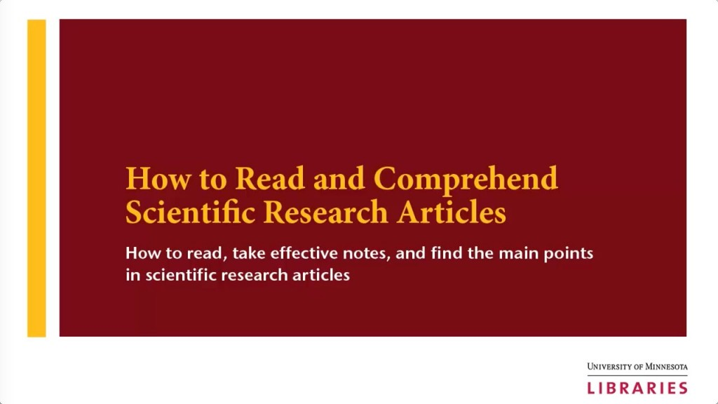 003 Maxresdefault How To Read Research Paper Striking Ppt A Scientific Large