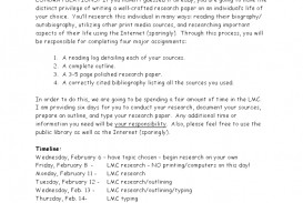 003 Middle School Research Paper Questions Phenomenal Science Topics Civil War Topic