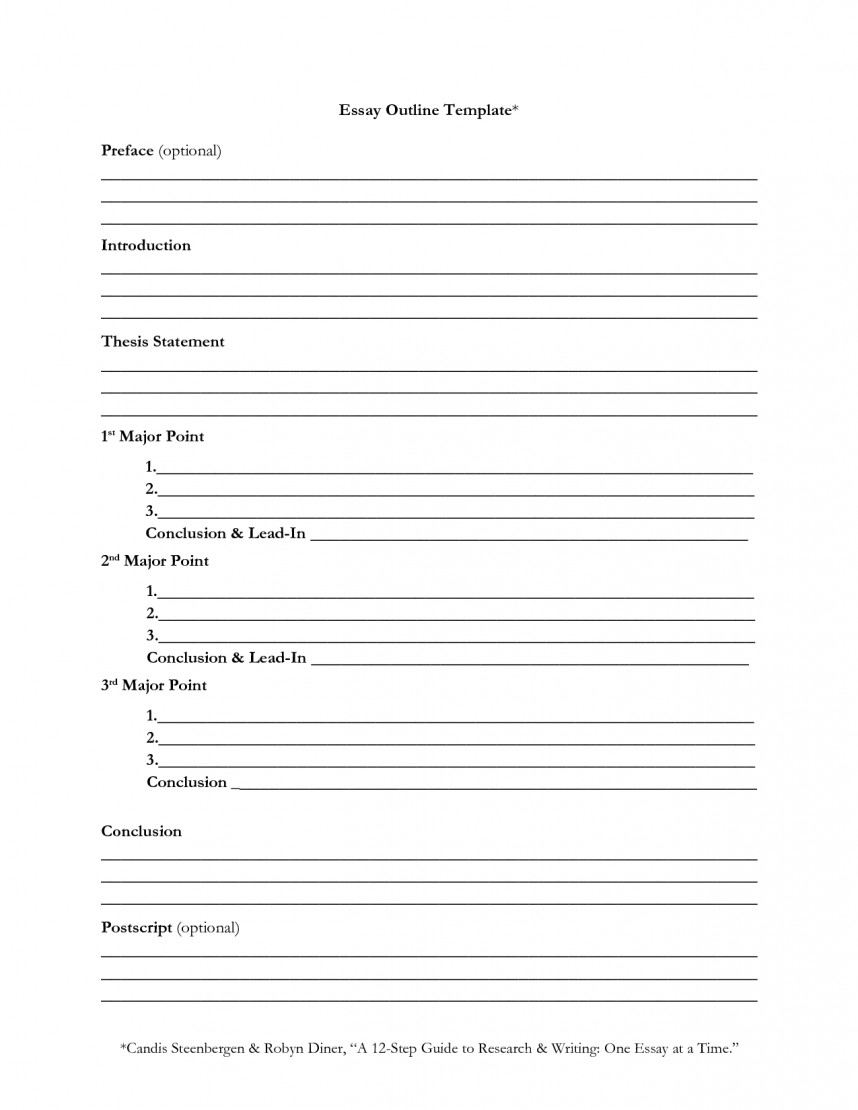 003 Observation Essay Outline Blank Research Paper Withmat Template Breathtaking For A