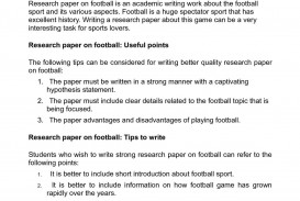 003 P1 Research Paper Sports Unforgettable Topics Injury History Law