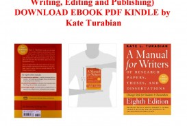 003 Page 1 Manual For Writers Of Researchs Theses And Dissertations Magnificent Research Papers A 8th Ed Pdf