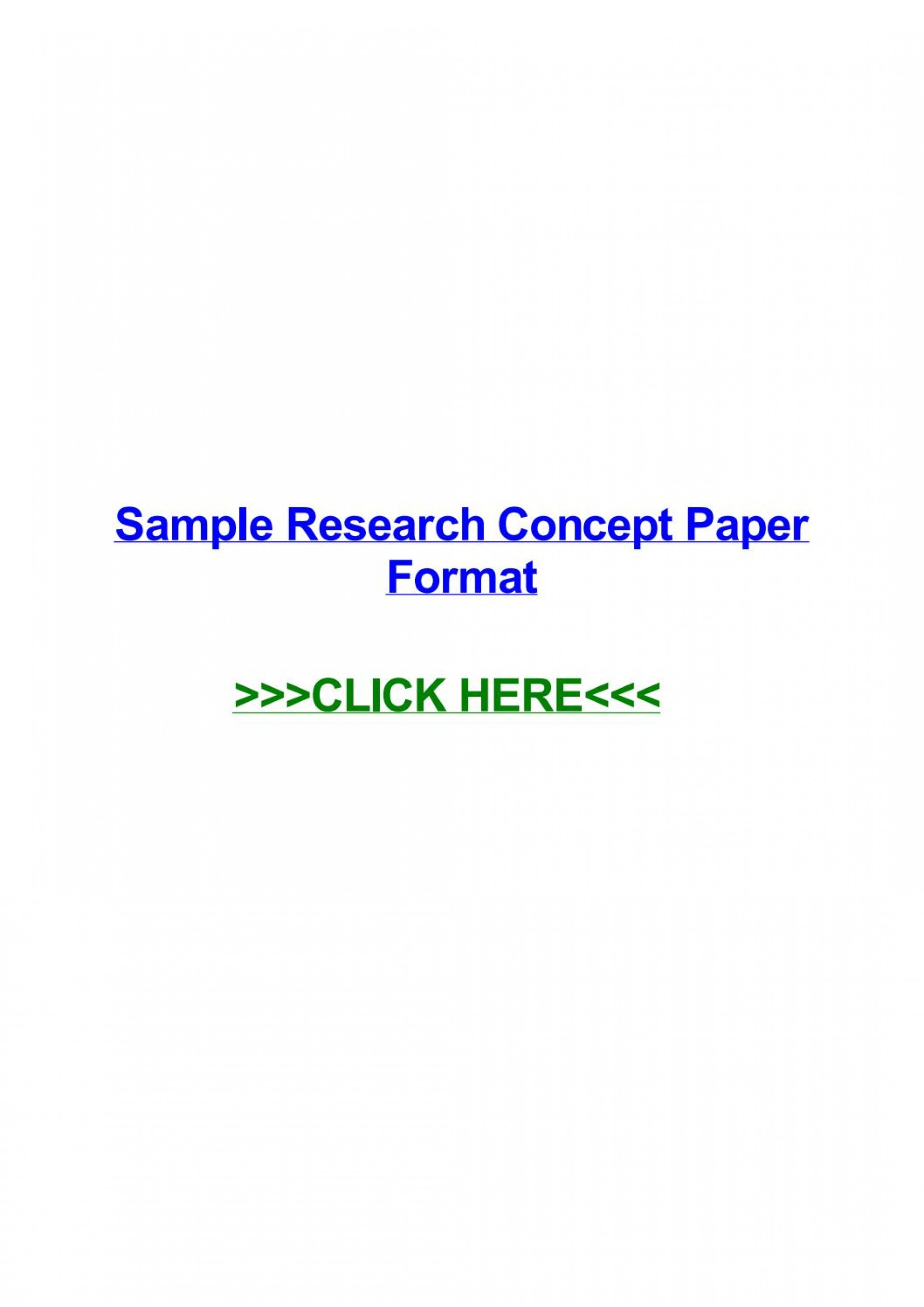 003 Page 1 Sample Research Concept Wondrous A Paper For Proposal Pdf Doc Of 1920