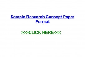 003 Page 1 Sample Research Concept Wondrous A Paper Of Pdf Phd