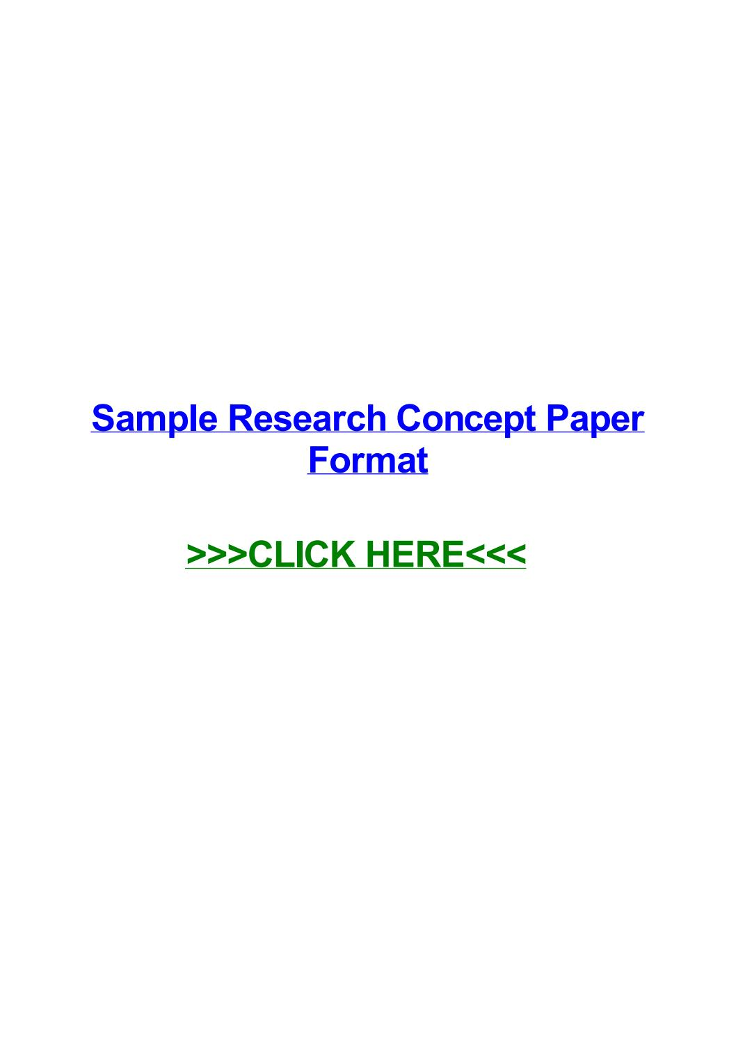 003 Page 1 Sample Research Concept Wondrous A Paper For Proposal Pdf Doc Of Full