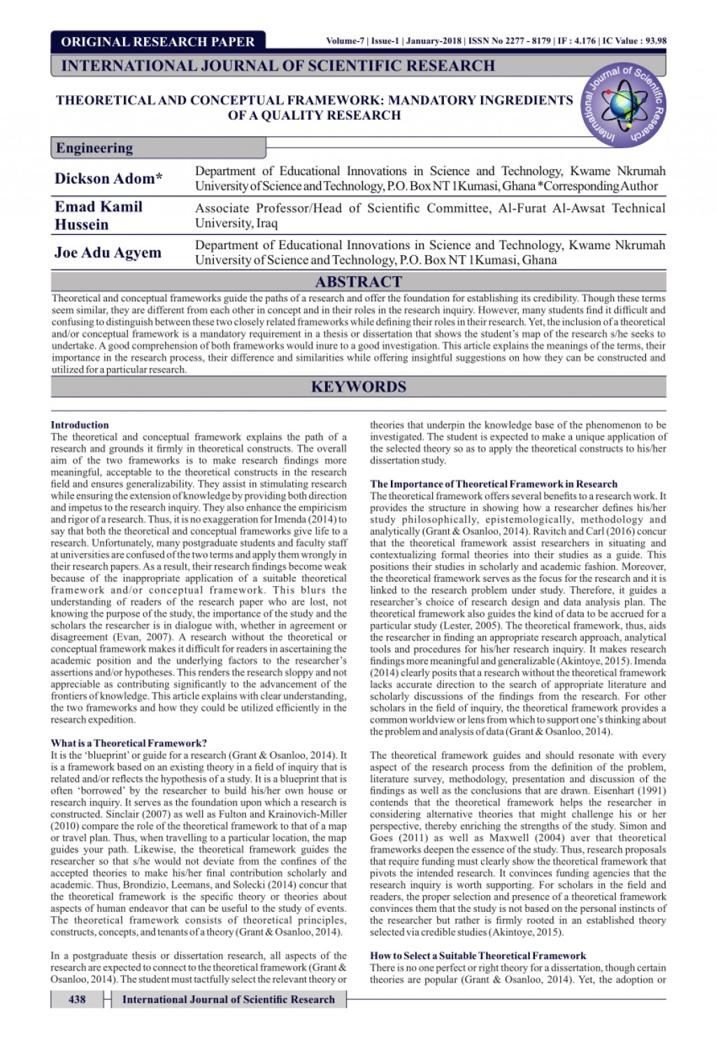 003 Parts Of Research Paper And Its Definition Pdf Staggering A Large