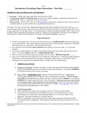 003 Psychology Research Paper Topics List Example Awesome Topic Ideas 360