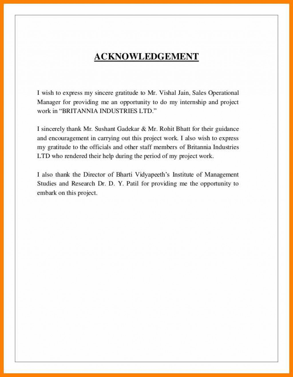 003 Research Paper Acknowledgement For Definition Acknowledgment Examples Uncategorized Internship Report Essential Formidable Of In A Large