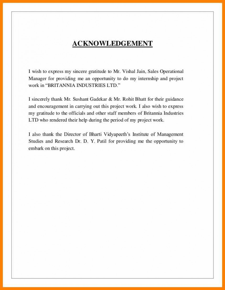 003 Research Paper Acknowledgement For Definition Acknowledgment Examples Uncategorized Internship Report Essential Formidable In Meaning Of