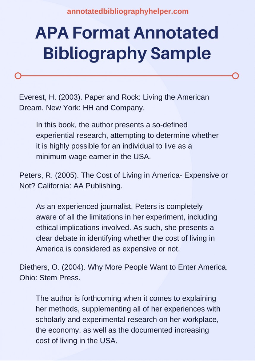 003 Research Paper Apa Format Annotated Bibliography Shocking Citation Style Model