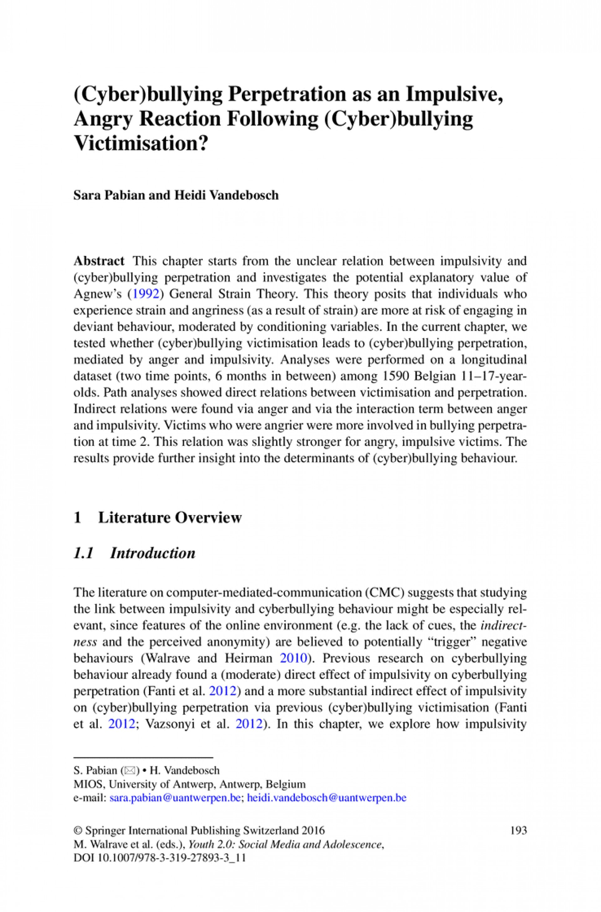 003 Research Paper Bullying Essays Cyberbullying Cover Letter20 Dreaded Conclusion 1920