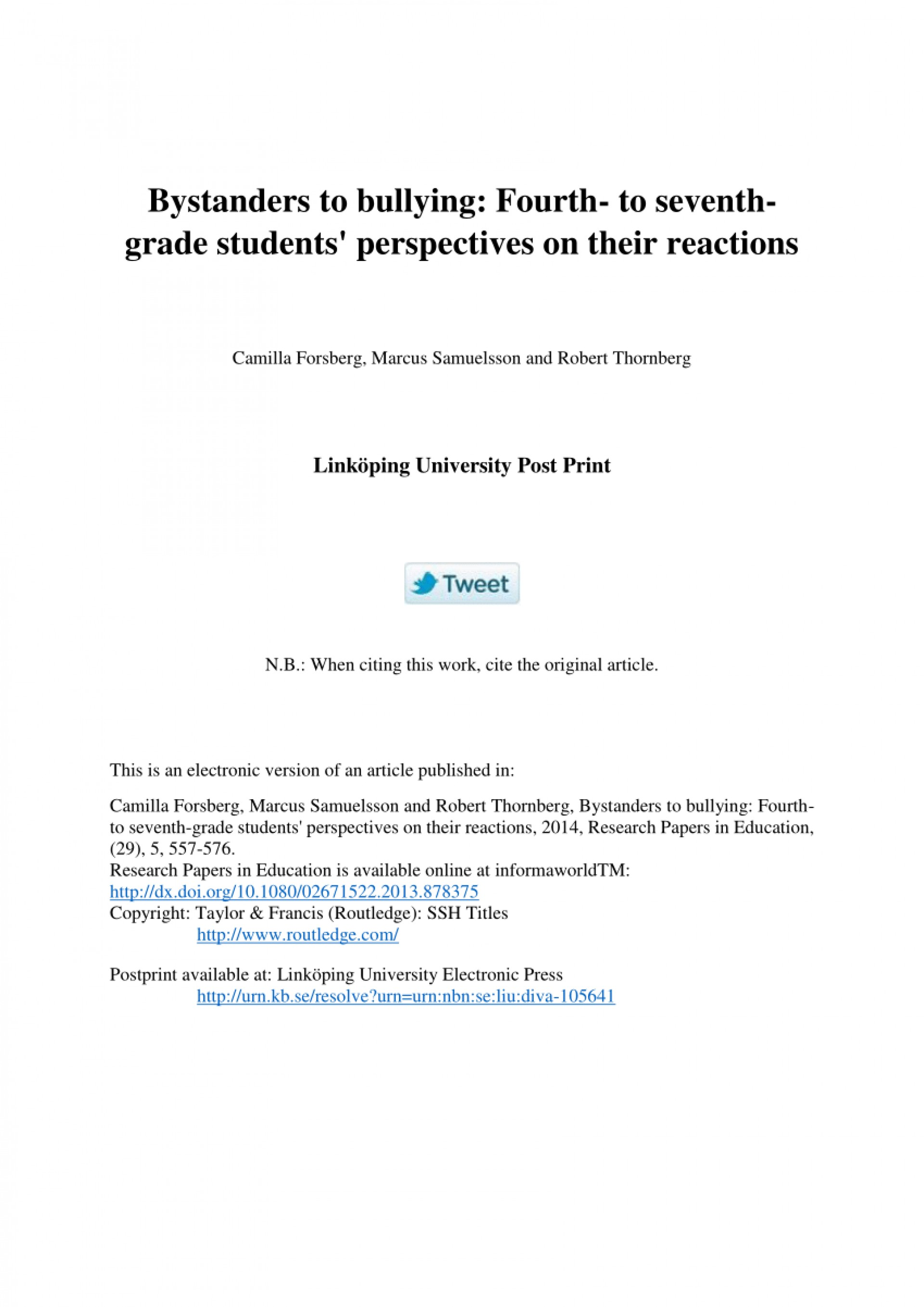 003 Research Paper Bullying Papers Formidable Anti Titles For Cyberbullying Tagalog 1920