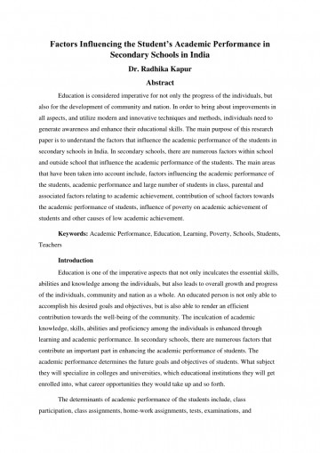 003 Research Paper Discrimination In Education Pdf Amazing 360